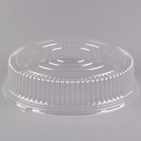 Fineline Platter Pleasers 9801-L 18 inch Clear PET Plastic Round High Dome Lid - 25/Case