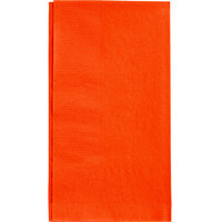 Choice 15 inch x 17 inch Customizable Orange 2-Ply Paper Dinner Napkins - 1000 / Case