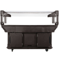 Carlisle 771101 Brown 6' Maximizer Portable Food / Salad Bar