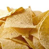 Snyder's of Hanover Yellow Triangular Corn Chips - (6) 1 lb. Bags / Case
