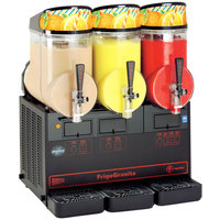 Cecilware FrigoGranita MT3ULBL Triple 2.5 Gallon Slush Machine - 120V