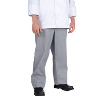 Chef Revival P034HT Size XL Houndstooth Chef Trousers - Poly-Cotton