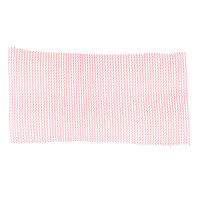 2' Red Plastic Mesh Bar Mat / Shelf Liner
