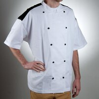 Chef Revival J031-XS Chef-Tex Size 32 (XS) Customizable Poly-Cotton Bermuda Chef Jacket