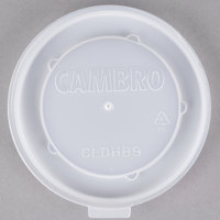Cambro CLDHB9 Disposable Translucent Lid for Dinex Heritage 9 oz. Bowl - 1000/Case