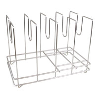 American Metalcraft 18040 4 Slot Pizza Screen Rack