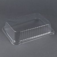 Durable Packaging P6700-100 3 inch Clear Dome Lid for 14 1/2 inch x 10 5/8 inch Foil Pan - 10 / Pack