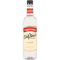 DaVinci Gourmet 750 mL Peppermint Classic Coffee Flavoring Syrup