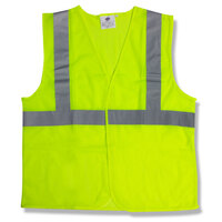 Lime Class 2 High Visibility Surveyor's Safety Vest with Velcro® Closure - XXXL