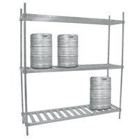 Advance Tabco KR-93 Keg Rack - 93 inch