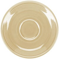 Homer Laughlin 470330 Fiesta Ivory 5 7/8 inch Saucer - 12/Case