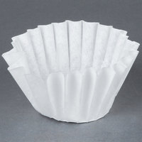 Bunn 20116.0000 9 1/2 inch x 3 1/4 inch 12 Cup Narrow Decanter Style Coffee Filter - 1000 / Case