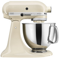 KitchenAid KSM150PSAC Almond Cream Artisan Series 5 Qt. Countertop Mixer