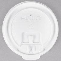 Dart Solo LB3081 8 oz. White Tear Tab Lid - 100/Pack