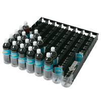 Beverage Air 61C31-252D-01 Universal Adjustable Spring-Feed Lane Organizer - 28 1/2 inch x 28 inch - 12 Lanes; for 8.4 oz. Bottles