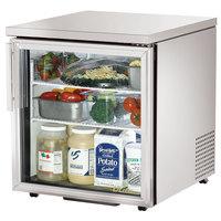 True TUC-27G-LP-HC-LD 27 inch Low Profile Glass Door Undercounter Refrigerator