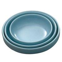 Blue Jade 14 oz. Round Melamine Bowl - 12/Case
