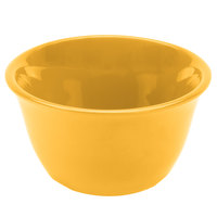 Thunder Group CR303YW 7 oz. Yellow Smooth Melamine Bouillon Cup - 12/Case