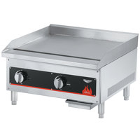 Vollrath 40719 Cayenne 18 inch Flat Top Gas Countertop Griddle - Manual Control