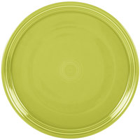 Homer Laughlin 505332 Fiesta Lemongrass 15 inch China Pizza / Baking Tray - 4/Case