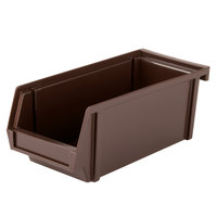 Vollrath 4806-01 Traex Brown Self-Serve 11 1/4 inch Condiment Bin