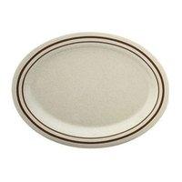 Arcadia Melamine Platter - 16 1/4 inch x 12 inch 12 / Pack
