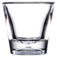GET SW-1425 (SW1425) 1 oz. SAN Plastic Shot Glass 24/Case