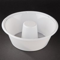 Genpak 55SA08 8 inch Bake N' Show Smoothwall Angel Food Cake Pan - 200 / Case