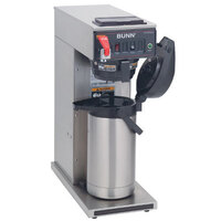 Bunn CWTF35 APS SF Airpot Brewer with Stainless Steel Funnel and Hot Water Faucet 120/208-240V (Bunn 23001.0023)