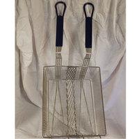 R & V Works Double Fryer Basket for FF2 Super and FF4 Cajun Deep Fryers