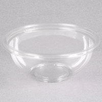 Sabert 12012A500 FreshPack 12 oz. Clear PETE Round Bowl   - 500/Case