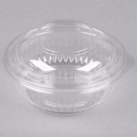 Dart Solo PET12BCD PresentaBowls 12 oz. Clear Plastic Bowl with Dome Lid - 252/Case
