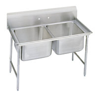 Advance Tabco 93-22-40 Regaline Two Compartment Stainless Steel Sink - 52 inch