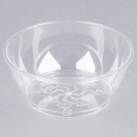 Fineline Savvi Serve 312 Clear 6 oz. Plastic Bowl - 20/Pack