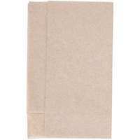 Kraft Natural Mini-Fold Dispenser Napkin - 6000/Case