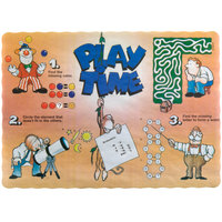 Play Time Interactive Placemat - 1000 / Case