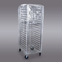 Curtron SUPRO-16-EC Clear Bun Pan Rack Cover - 14 Mil
