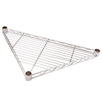 Regency 18 inch NSF Chrome Triangle Shelf