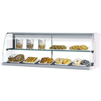 Turbo Air TOMD-30-H 28 inch Top Dry Display Case for Turbo Air TOM-30S Slim Line Open Display Case - White