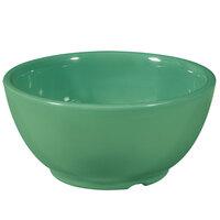 GET B-525-FG Diamond Mardi Gras 16 oz. Rainforest Green Melamine Bowl - 24 / Case