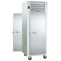 Traulsen G14312P 1 Section Pass-Through Solid Door Hot Food Holding Cabinet with Right Hinged Doors