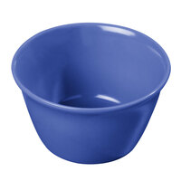 Carlisle 4354014 Dallas Ware 8 oz. Ocean Blue Bouillon Cup - 24/Case