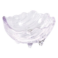 Carlisle 033807 2 oz. Clear Sea Shell Ramekin - 12/Pack