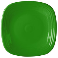 Homer Laughlin 919324 Fiesta Shamrock 10 3/4 inch Square Dinner Plate - 12 / Case