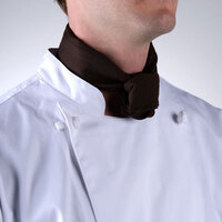 37 inch x 14 inch Brown Neckerchief / Bandana