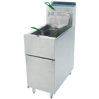 Dean SR42G Liquid Propane Super Runner Floor Fryer 35-43 lb.