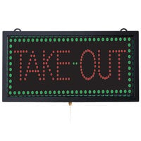 Aarco Take Out LED Sign