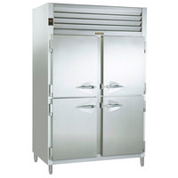 Traulsen RSL232NUT-HHS Stainless Steel 46 Cu. Ft. Two Section Half Door Reach In Freezer (-20 Fahrenheit) - Specification Line