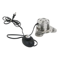 Buffet Enhancements 1BBUFBURN2 Large Round Universal Magnetic Chafing Dish Heater - 120V