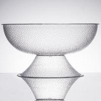 Cambro PPB15176 11.25 Qt. Pebbled Pedestal Punch Bowl